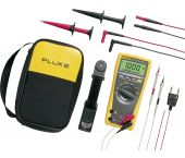 Fluke 179/EDA2/EUR Digitale True-RMS multimeter met temperatuurmeting incl. meetsnoeren set - AC/DC 1000V & 10A - 3947719
