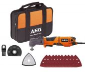 AEG OMNI 300 KIT1 Multitool in tas - 300W  - 4935431790