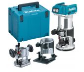 Makita DRT50ZJX2 18V Li-Ion accu bovenfrees / kantenfrees / trimmer body in Mbox