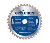Evolution EVO180STEEL TCT Cirkelzaagblad - 180 x 20 x 36T - Aluminium