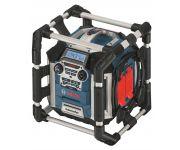 Bosch GML 50 PowerBox 360 Deluxe 14.4-18V Li-Ion Accu bouwradio met laadfunctie - netstroom & accu - 0601429600