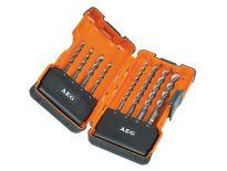 AEG 4932352237 SDS-Plus 8 delige Hamerborenset in koffer