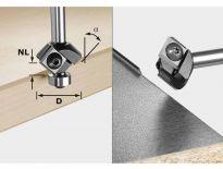 Festool 499807 / S8 HW 45° D27 12x12 KL Keermes-fasefrees HW