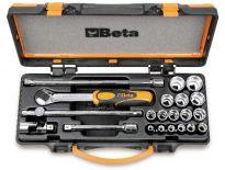 """Beta 009100936 21 delige dopsleutelset - 3/8"""""""