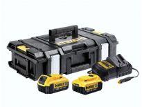 Dewalt DCZ119M2K 18V accu combi pack (2x 4.0Ah) incl. auto lader in koffer
