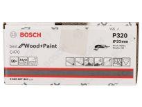 Bosch 2608607885 Schuurvel C470 - Delta - K320 - 93mm (50st)