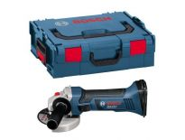 Bosch GWS 18 V-LI SOLO 18V Li-Ion Accu haakse slijper body in L-Boxx - 115mm - variabel - 060193A304