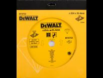 DeWalt DT3733 Diamantdoorslijpschijf - 250 x 25,4 x 1,6mm - keramiek - DT3733-XJ