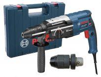 Bosch GBH 2-28 DFV SDS-plus combihamer + snelspanboorkop in koffer - 850W - 3,2J - 0611267200