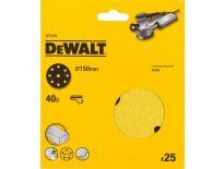 DeWalt DT3151 Schuurschijf - K40 - 150mm (25st) - DT3151-QZ