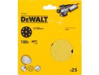DeWalt DT3156 Schuurschijf - K180 - 150mm (25st) - DT3156-QZ