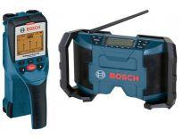 Bosch 06159940CJ Wallscanner (D-Tect 150) & radio (GML 10,8 V-Li)