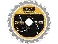 DeWalt DT99560 Cirkelzaagblad - 165 x 20 x 24T - Hout - DT99560-QZ