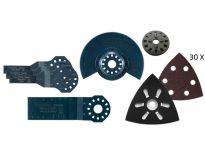 Makita 57 delige multitool accessoire set (3 bakjes)