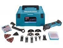 Makita DTM51ZJX3 18V Li-Ion accu multitool body in Mbox + 42 accessoireset - snelwissel