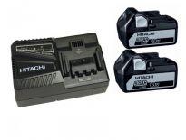 Hitachi Powerpack 1850.2 18V Li-Ion accu - 5.0Ah (2 x BSL1850 + oplader) - 714911