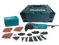 Makita TM3000CX3J Multitool + 42 delige accessoireset in Mbox - 320W