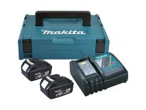 Makita 196866-5 Starterset 18V 2x 4.0Ah accu + oplader in Mbox - BL1840 - DC18RC