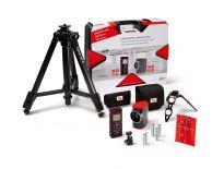 Leica 806656 afstandsmeter (Disto D210) & kruislijnlaser (Lino L2) combiset in koffer + statief - 80m - 15m