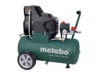 Metabo Basic 250-24 W OF Compressor - 1500W - 8 bar - 24L - 100 l/min - 601532000