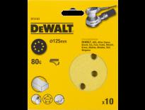 DeWalt DT3103 Schuurschijf - K80 - 125mm (10st) - DT3103-QZ