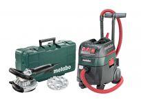 Metabo 690884000 Renovatieslijper (RS 14-125 Abrasief) & Alleszuiger / bouwstofzuiger (ASR 35 M ACP) combiset