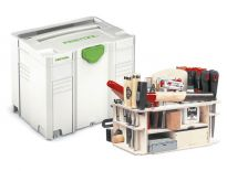 Festool 497658 / SYS-HWZ SYS 4 T-LOC Systainer incl. houtinzet - 396 x 296 x 315 mm - 497658