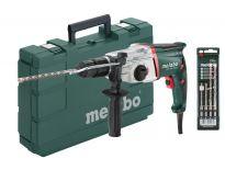 Metabo UHE 2450 MULTI SET SDS-plus combihamer met snelspanboorhouder in koffer - 725W - 2.4J - 600696850