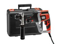 Black en Decker KD990KA SDS-plus combihamer in koffer - 850W - 2.4J - variabel