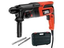 Black + Decker KD855KA SDS-plus Combihamer in koffer - 550W - 1.6J