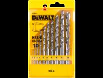DeWalt DT5921 10 delige HSS-G metaalboren in cassette - DT5921-QZ