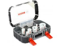 Bosch 2608580872 Gatzagenset incl Powerchange adapter - 16 x 20 x 25 x 32 x 40 x 51 x 64mm