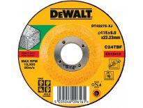 DeWalt DT42275 Afbraamschijf verzonken - 115x6mm (25st) - DT42275-XJ