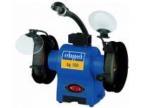 Scheppach BG150 Dubbele tafelslijpmachine met werklamp - 370W - 150 x 12,7 x 25mm - 4903104901