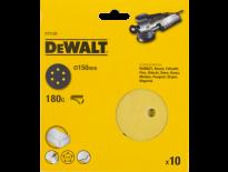 DeWalt DT3126 Schuurschijf - K180 - 150mm (10st) - DT3126-QZ
