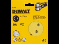 DeWalt DT3102 Schuurschijf - K60 - 125mm (10st) - DT3102-QZ