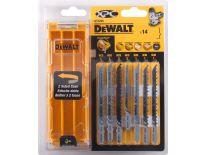 DeWalt DT2298 14 delige decoupeerzaagbladen XPC® set in cassette - DT2298-QZ