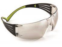 3M SF410AS Secure Fit 400 Veiligheidsbril - Polycarbonaat - Indoor/Outdoor - Weerspiegelend - SF410AS-EU