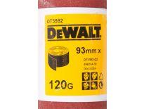 DeWalt DT3592 Schuurpapier rol - P120 - 5m - 93mm - DT3592-QZ