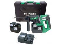 Hitachi DH36DAL (LL) 36V Li-Ion accu SDS-plus combihamer set (2x 2.6Ah accu) in koffer – 2,8J - 93222676