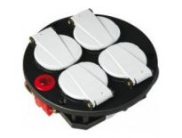 Brennenstuhl 1081080 4-voudige inzet - IP20 - 230V/16A - thermostaat met controlelicht