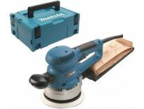 Makita BO6030J Excentrische schuurmachine in Mbox - 310W - 150mm - variabel