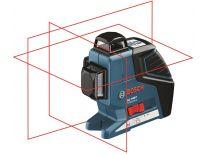 Bosch GLL 3-80 P kruislijnlaser in tas - 40-80m - 0601063305