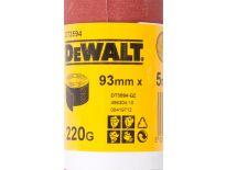 DeWalt DT3594 Schuurpapier rol - P220 - 5m - 93mm - DT3594-QZ