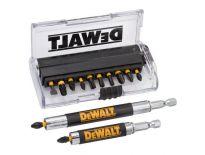 DeWalt DT70512T 14 delige Impact  Torsion schroevendraaier bitset in cassette