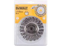 DeWalt DT3502 Schijfborstel met getordeerde draadbundel - 115x22mm - DT3502-QZ