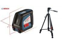 Bosch GLL 2-50 kruislijnlaser + statief BT150 - 20-50m - 0601063105