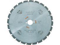 Metabo 628220000 Power Cut Cirkelzaagblad - 254 x 30 x 24T - Hout (Met nagels)