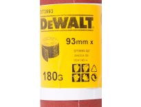 DeWalt DT3593 Schuurpapier rol - P180 - 5m - 93mm - DT3593-QZ