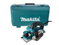 Makita KP0810K schaafmachine in koffer - 850W - 82mm - 4mm